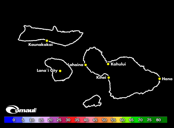 Hawaii Wind Report